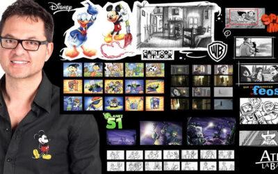 Taller del boceto en el papel a la pantalla de cine a cargo de Paco Sáez